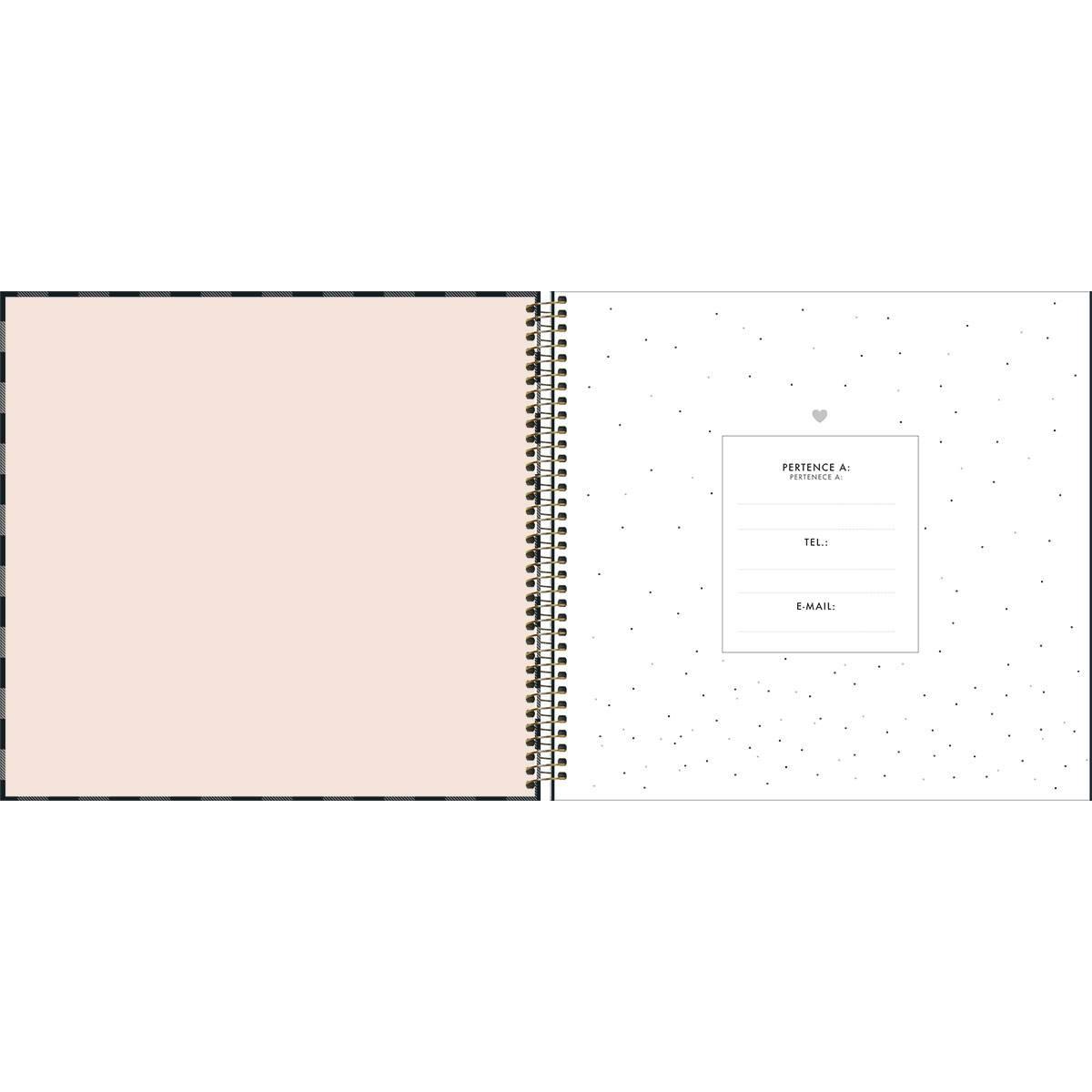 Agenda / Planner Espiral West Village Permanente - Tilibra