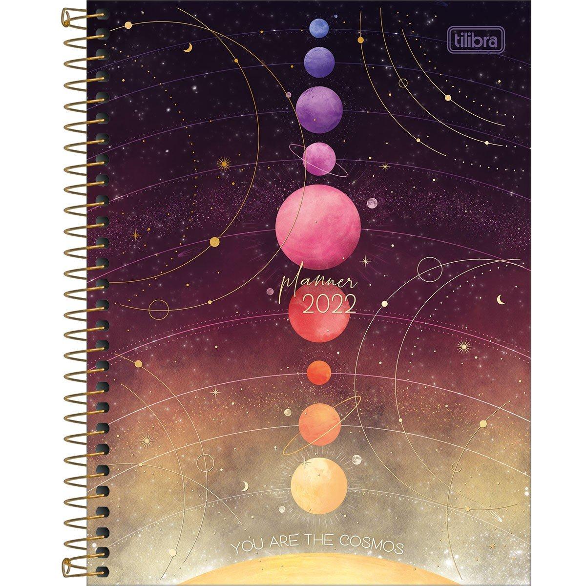 Planner Espiral 17,7 X 24cm Magic 2022 M7 - Tilibra