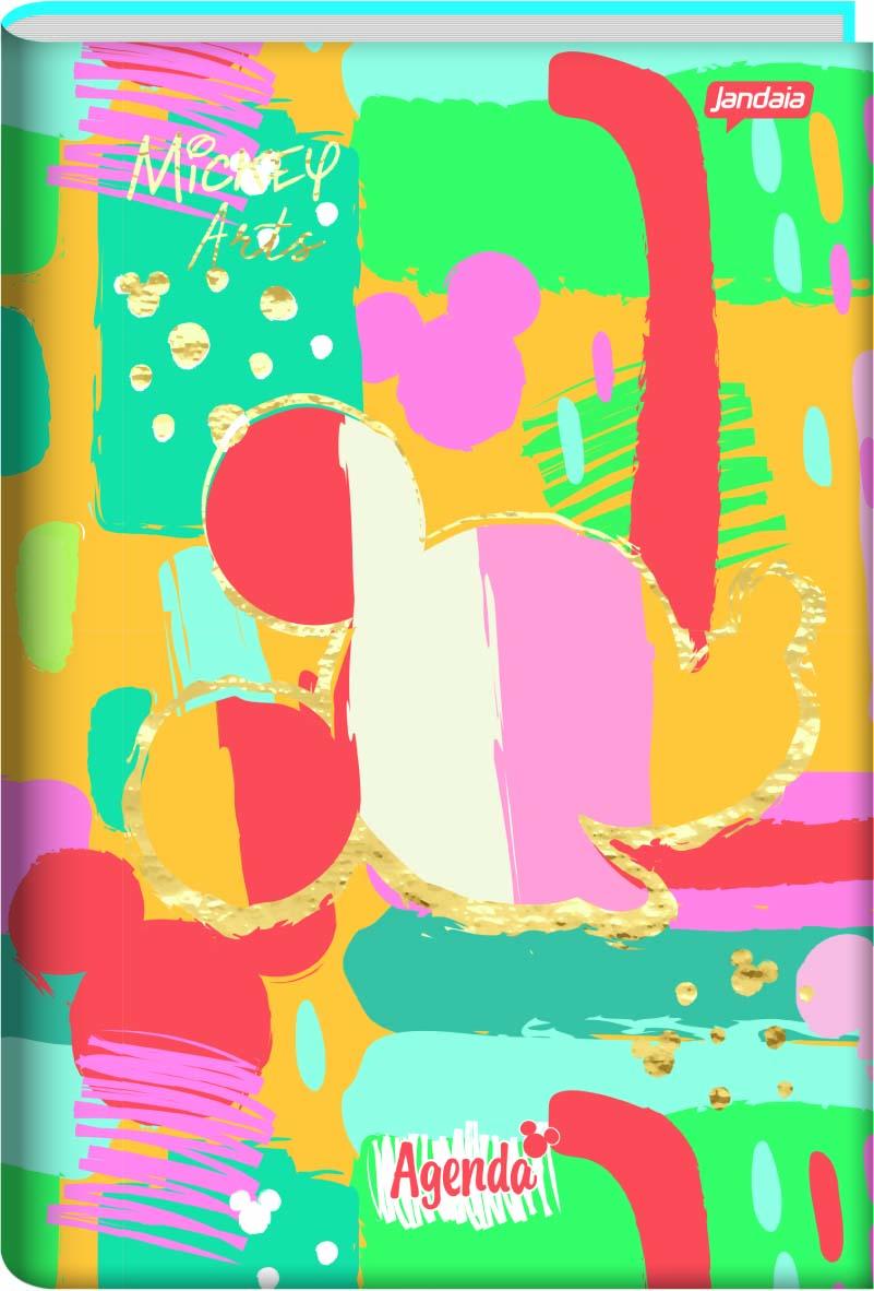 Agenda Permanente Escolar Mickey Arts - Jandaia