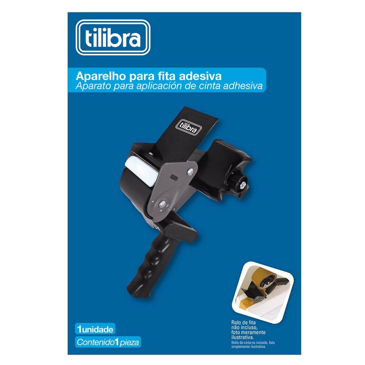 Aplicador para Fita Adesiva Para Embalagens - Tilibra