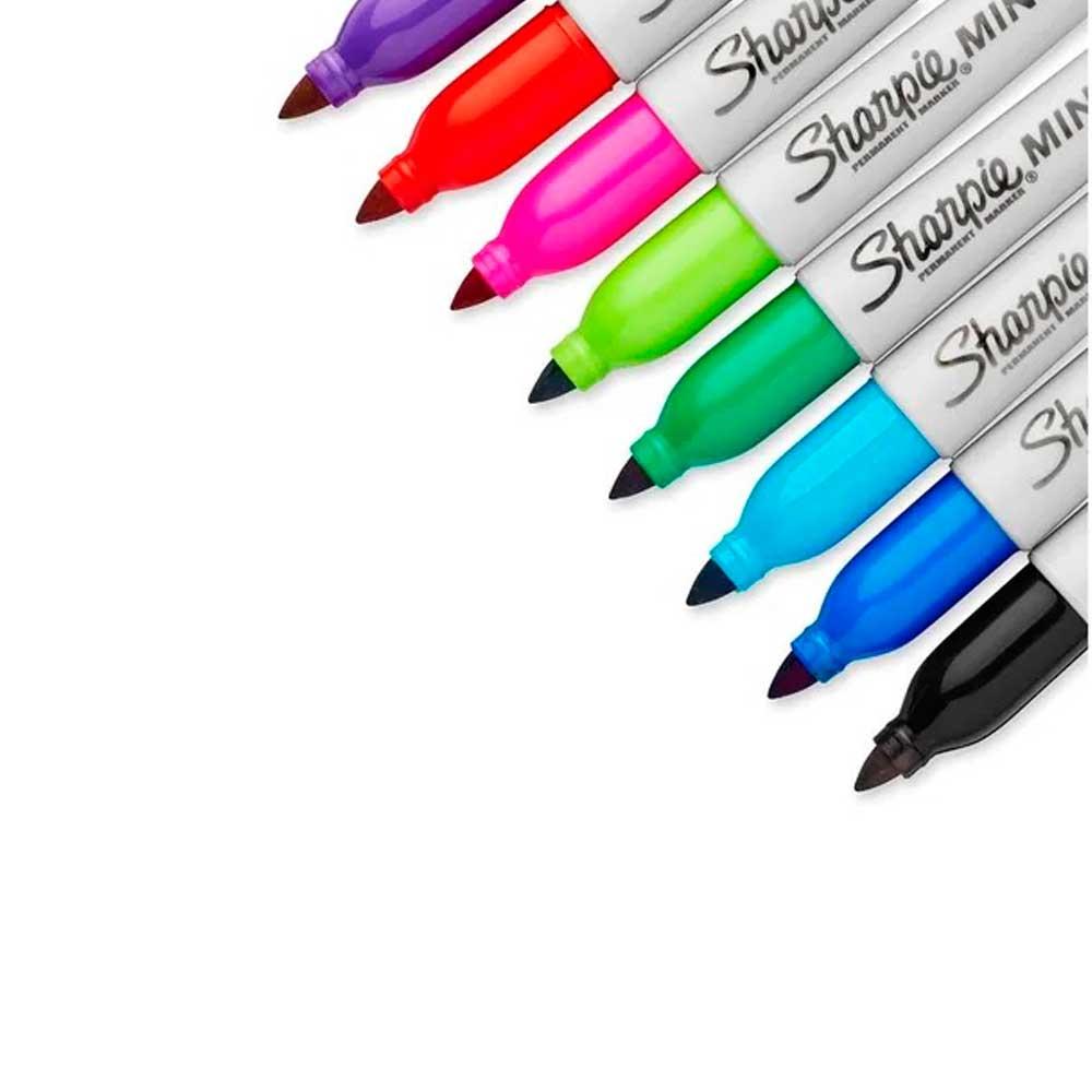Marcador Permanente Fino C/ 24 Cores Color Burst  - Sharpie