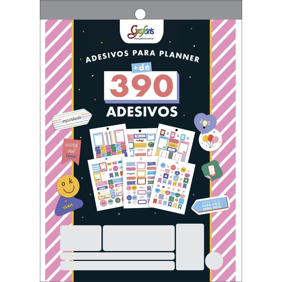 Bloco Adesivos para Planner Grafon´s 12 Fls - Tilibra