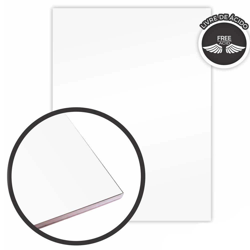 Bloco de Desenho A4 Branco 140g/m² 20 Fls - Merci