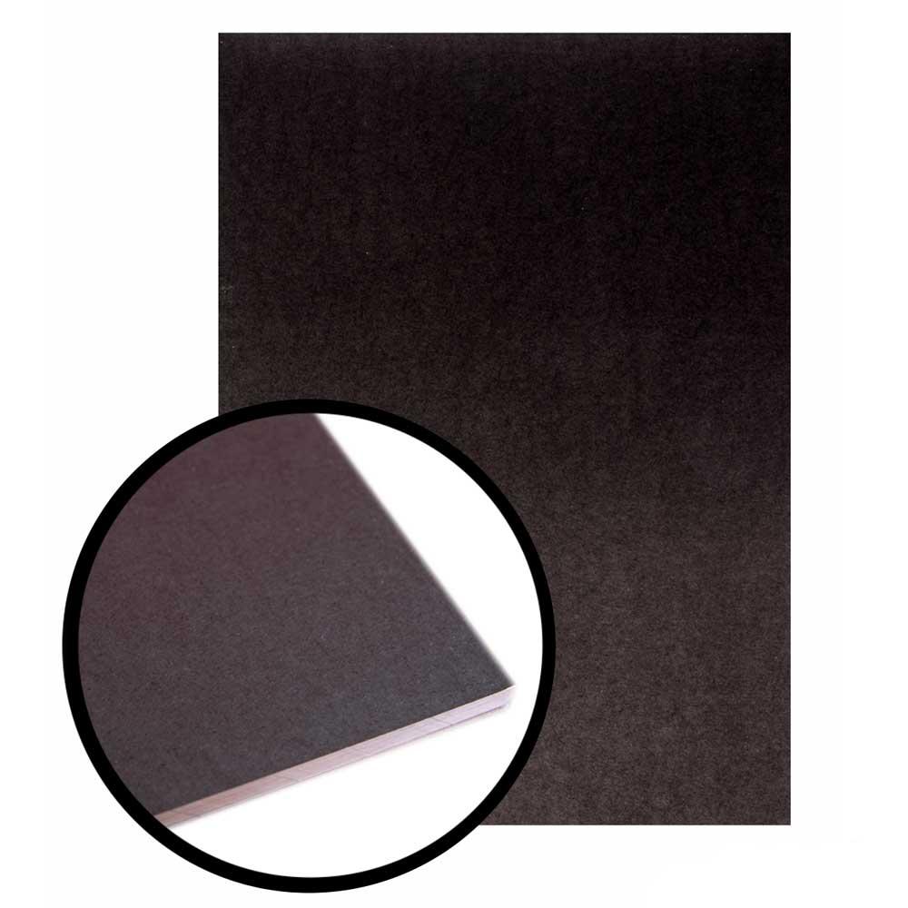 Bloco Para Lettering A4 Black 180g/m² 20 Fls - Merci