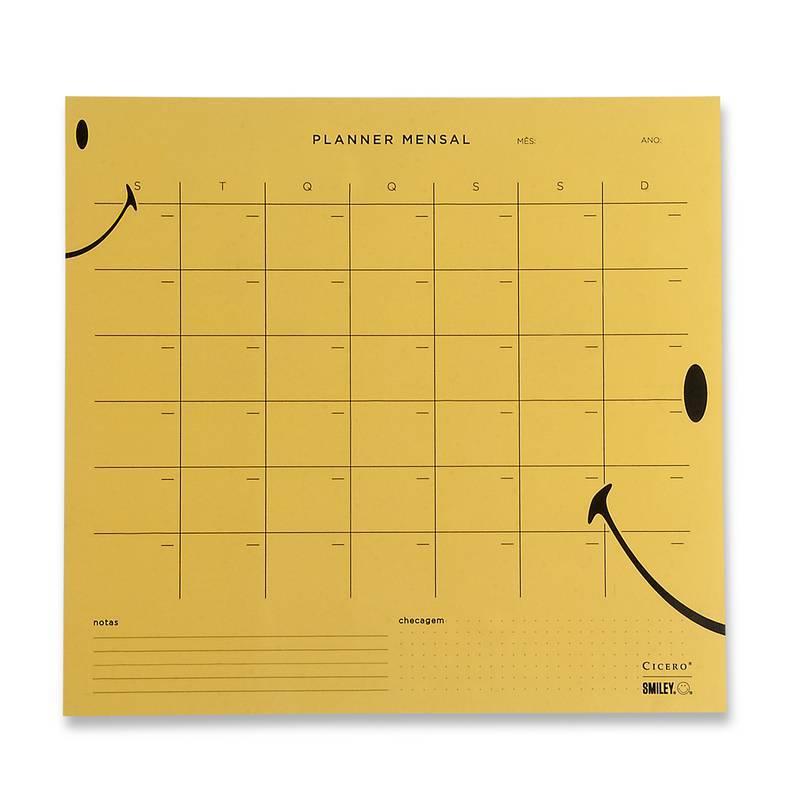 Bloco Planner Mensal 29,7 x 27 - Cicero