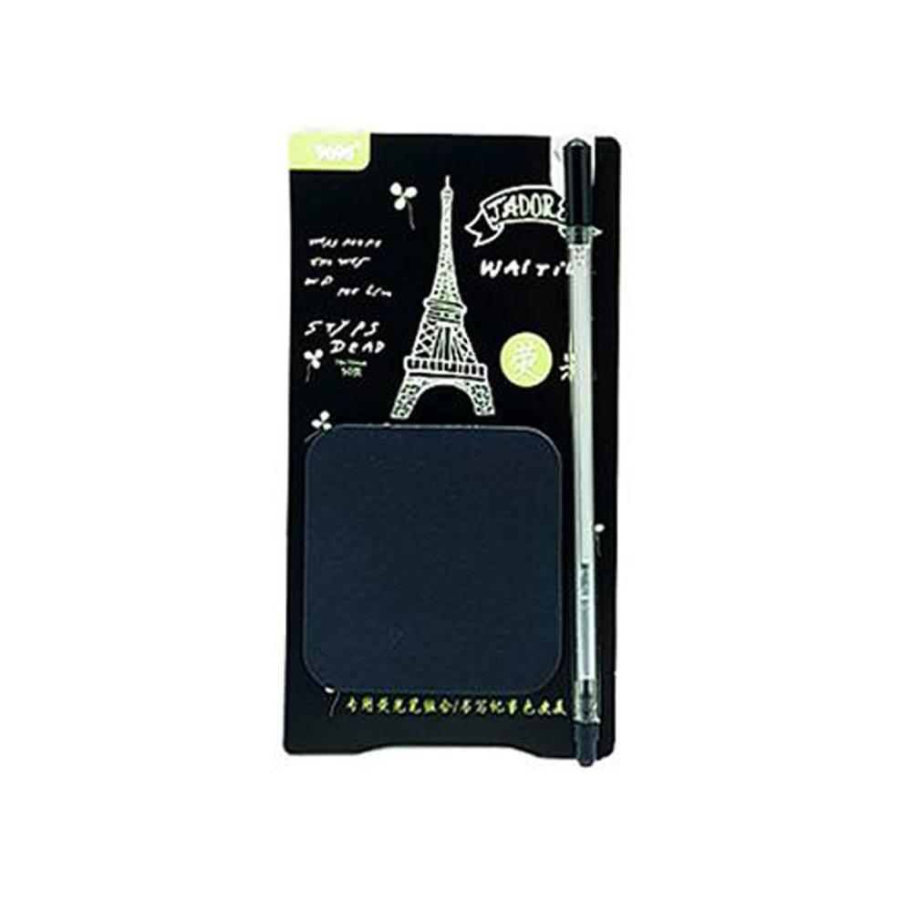 Bloco Autoadesivo / Anotação Torre Eiffel 50 Fls C/ Caneta