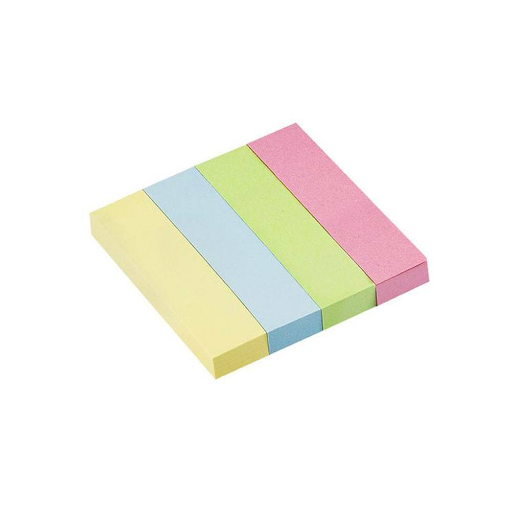 Bloco Smart Notes 19x76mm Colorido Pastel  4x100fls - BRW