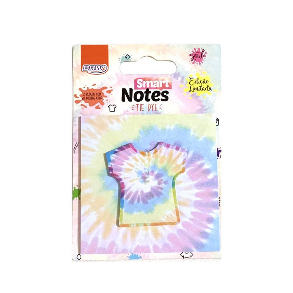 Bloco Smart Notes Layers Tie Dye 2 em 1 40fls - BWR