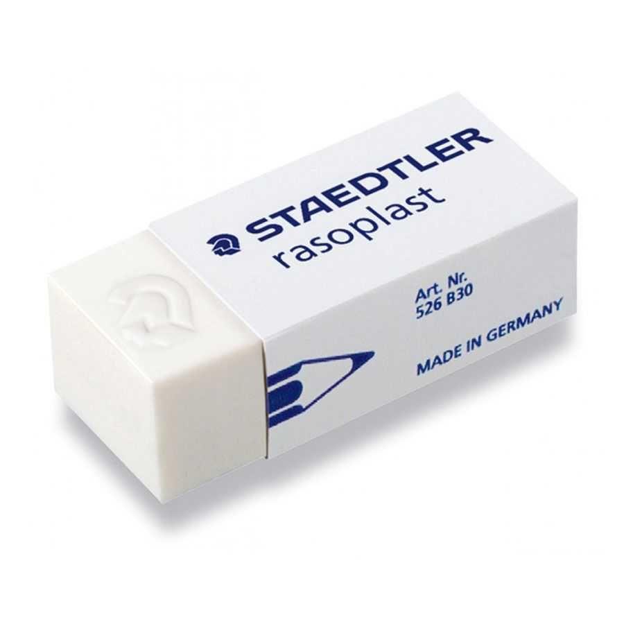 Borracha Escolar Branca Rasoplast 526 B - Staedtler