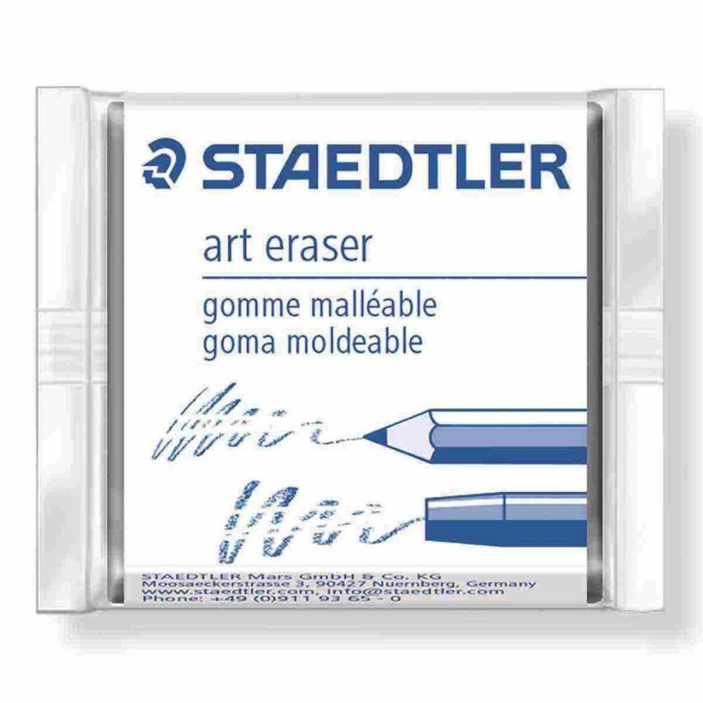 Borracha Técnica Limpa Tipos Art Eraser Pastel Soft Karat - Staedtler