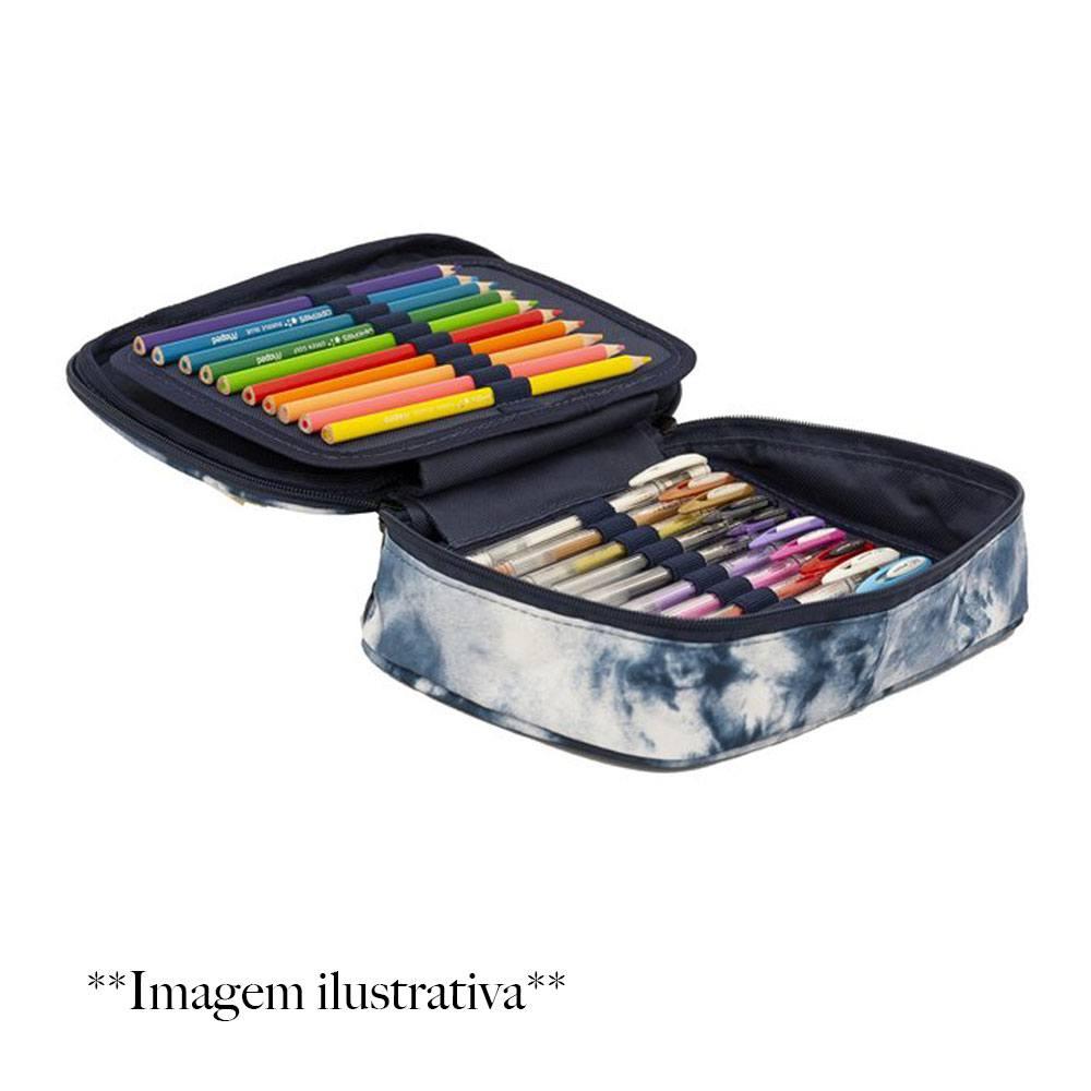 Estojo Box 100Pens Urban Tie Dye - Sabra
