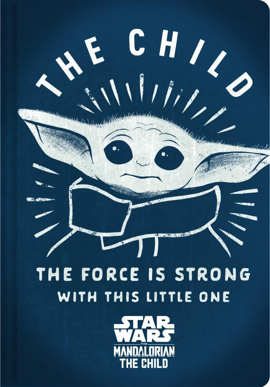 Caderneta Brochura S/ Pauta 1/4 Flex 40Fls Baby Yoda The Mandalorian - Jandaia