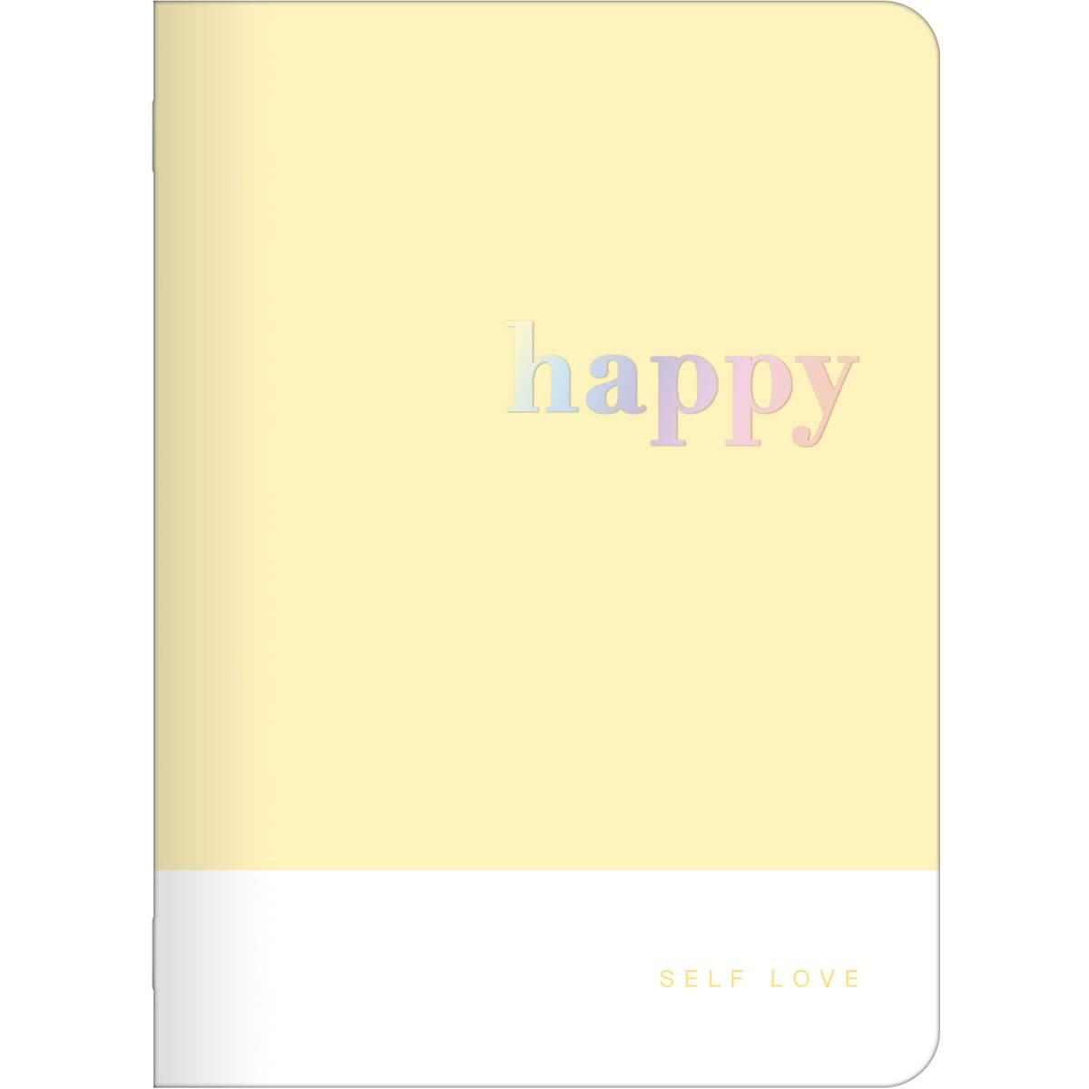 Caderneta Grampeada Happy 32 Folhas - Tilibra