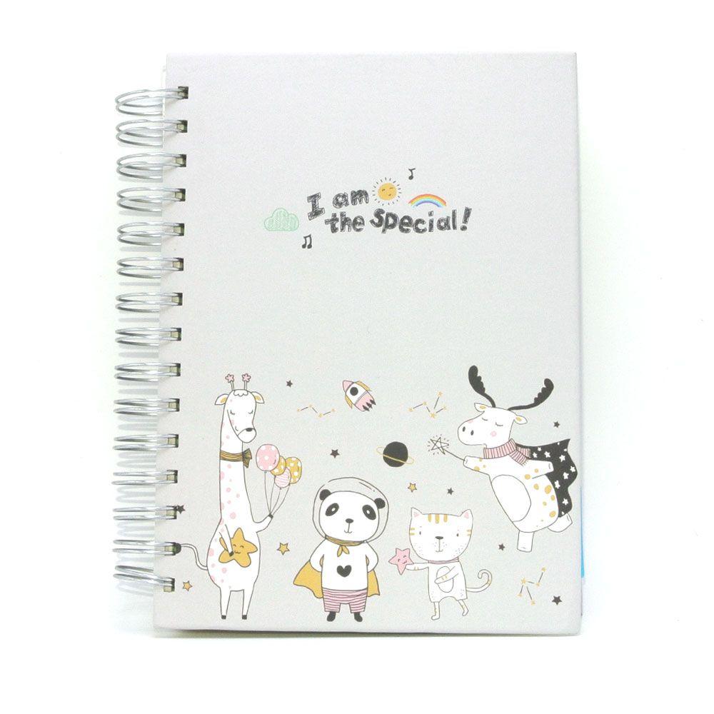 Caderno de Anotação Espiral I´m The Special 120 fls. 149x207mm