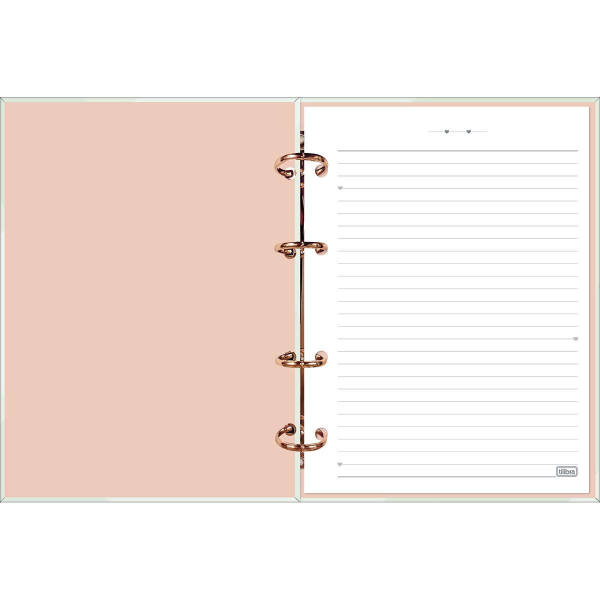 Caderno Argolado Cartonado Colegial Soho S/L 160 Fls - Tilibra