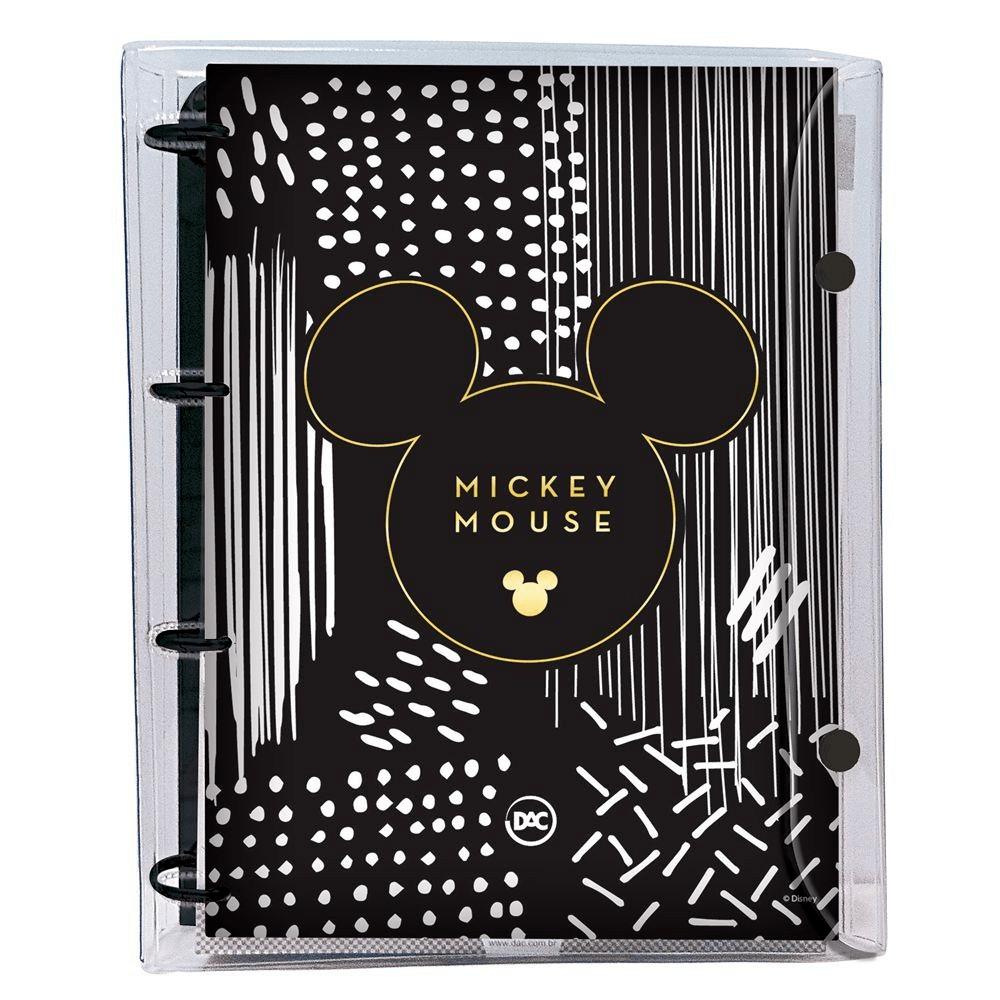 Fichário/Caderno Argolado Escolar Mickey Mouse Universitário 192fls. - DAC