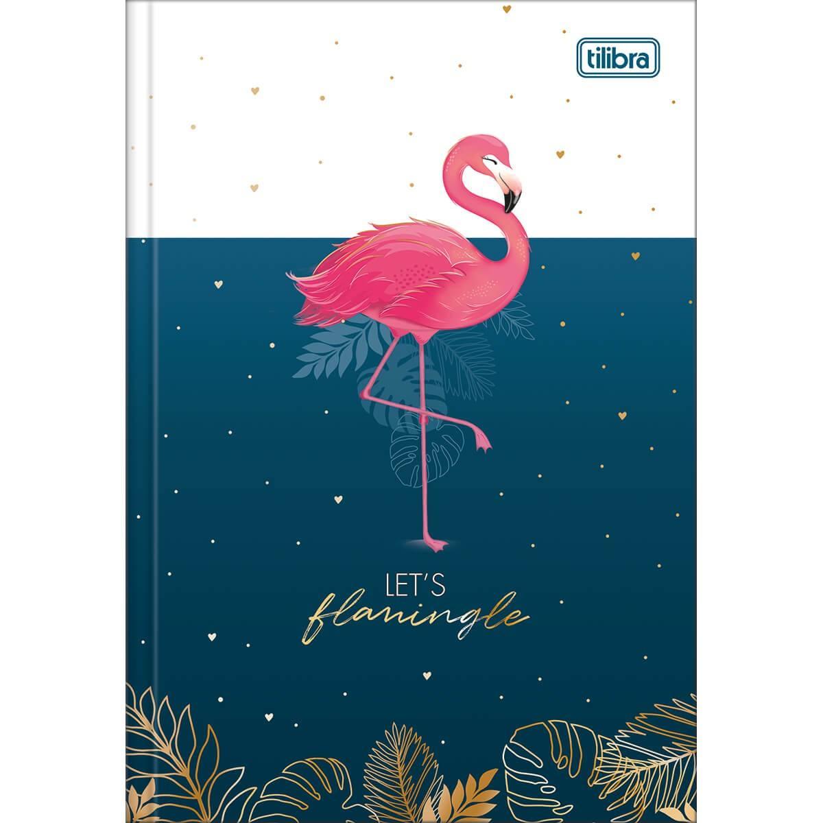 Caderno Brochura Capa Dura 1/4 Aloha 80 Fls - Tilibra