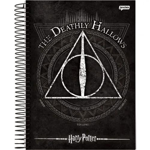 Caderno Espiral Capa Dura 1/4 96FL Harry Potter (1 Matéria)