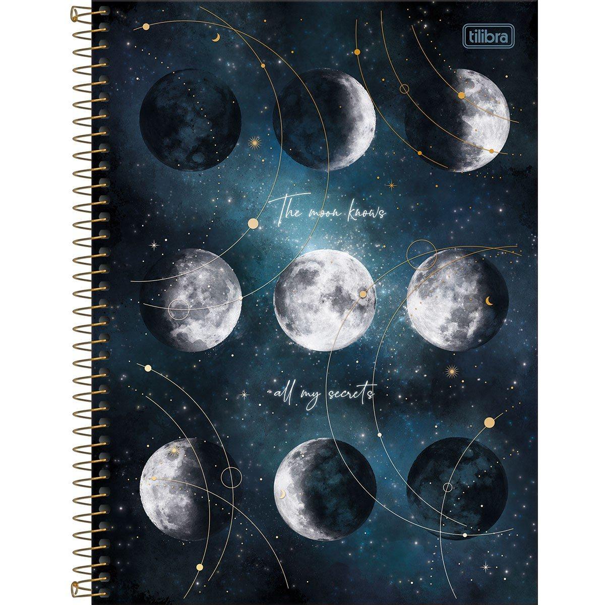 Caderno Espiral CD Colegial 10 Matérias Magic 160 Fls - Tilibra