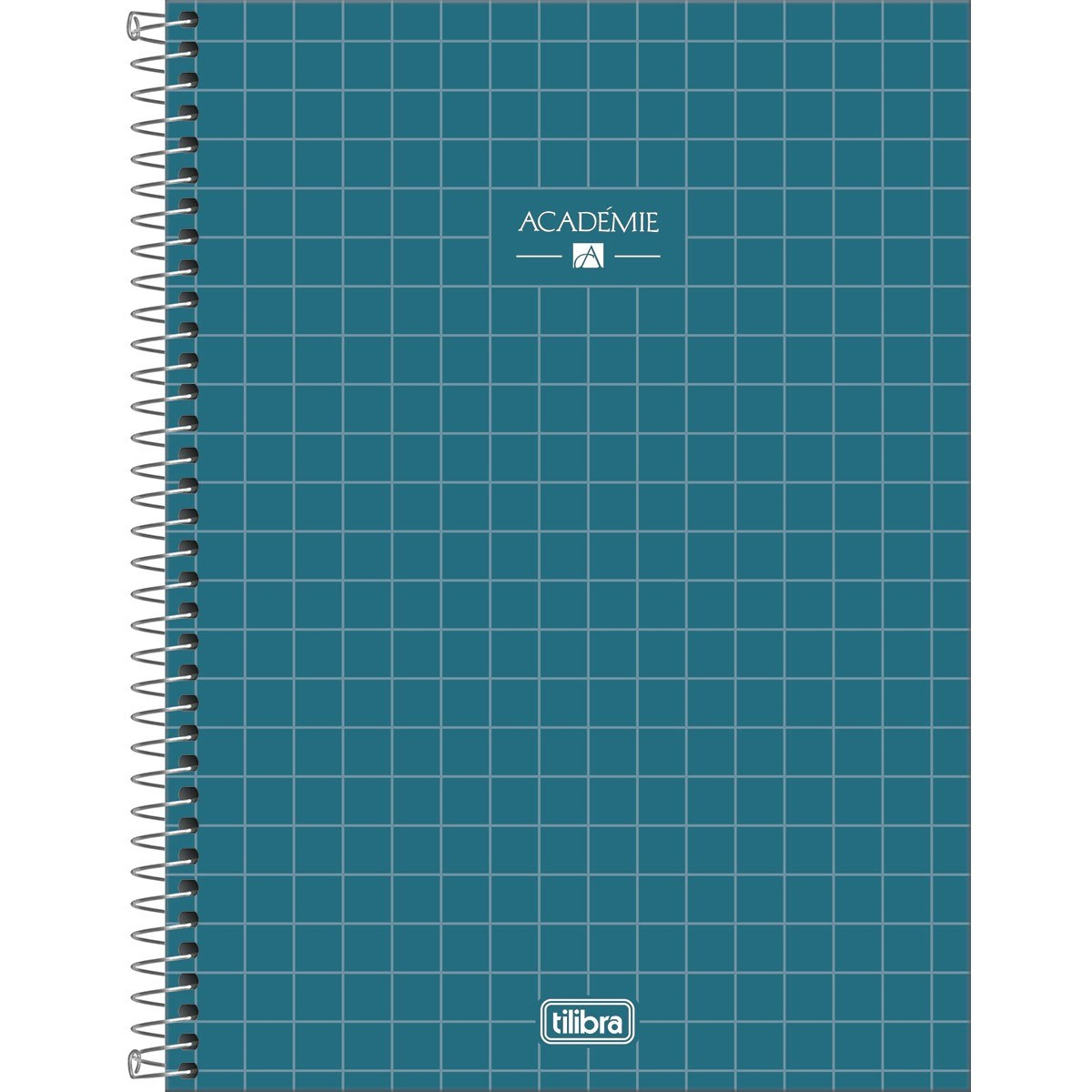 Caderno Espiral Capa Dura Universitário 10 Matérias Académie 160 Fls - Tilibra