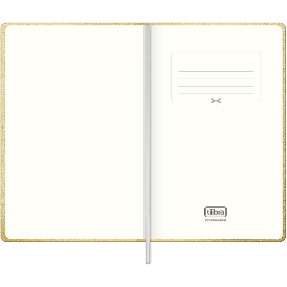 Caderno Executivo Pontilhado Costurado Capa Dura Fitto G Cambridge Shine 80 Fls - Tilibra