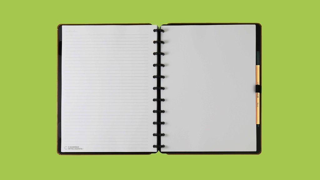 Caderno Inteligente Caramel - Grande