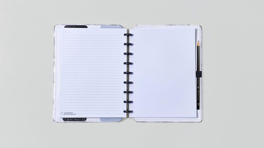 Caderno Inteligente Deluxe Tamanho Médio