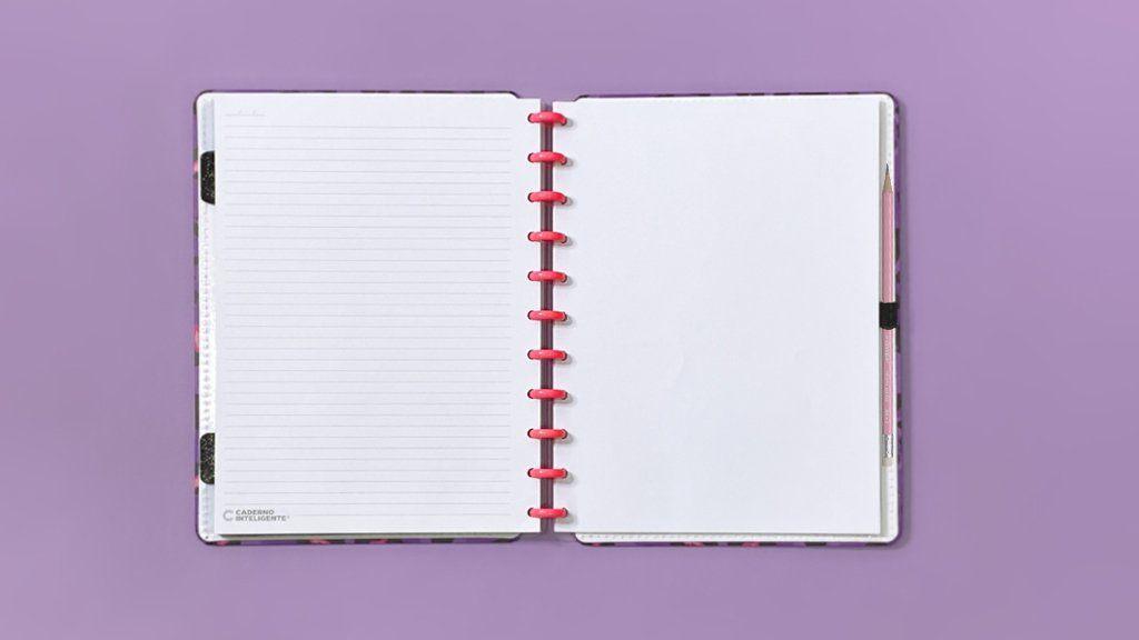 Caderno Inteligente Estampa Mania Grande
