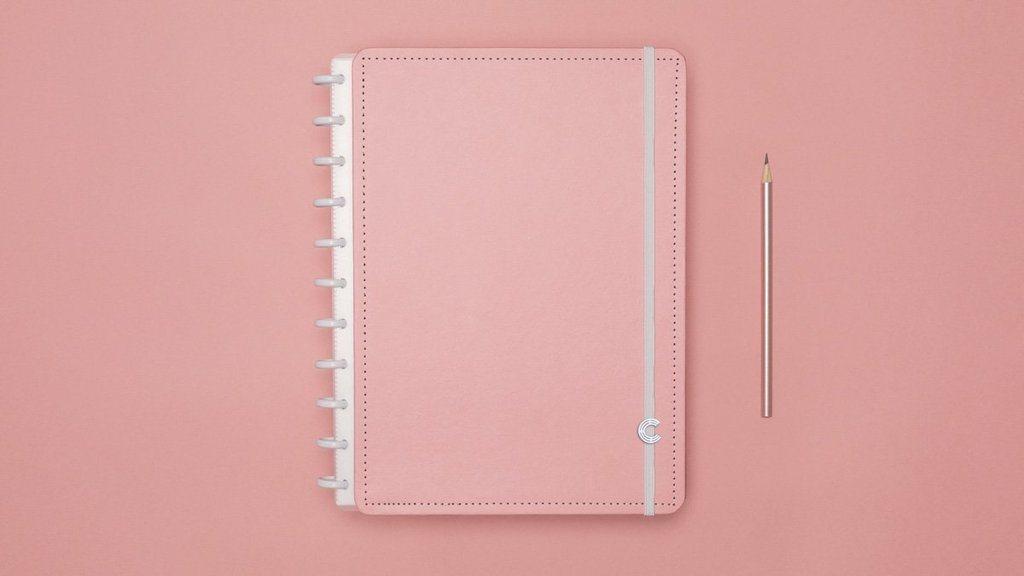 Caderno Inteligente Tons Pastel Grande