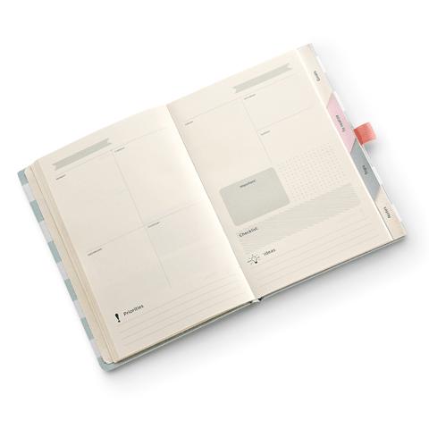 Agenda Permanente / Planner Caderno Organizador Riccio Mini - Ótima