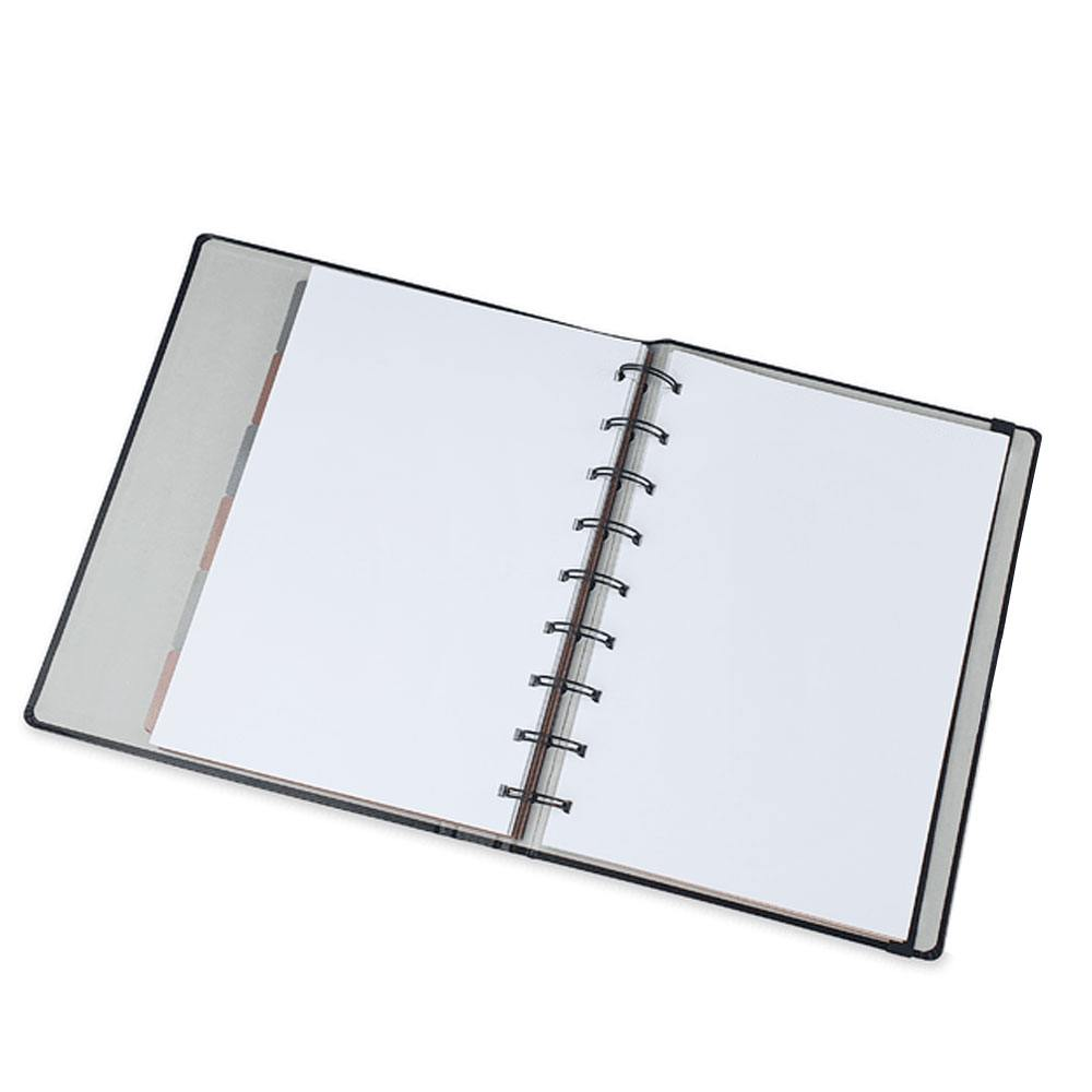 Caderno Ultra SystemFlex Noir Pena - Ótima