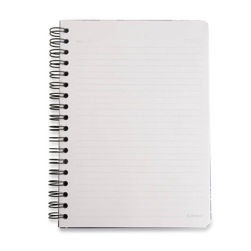 Caderno Espiral Wire-o Pautado 17X24 A5 - Cicero