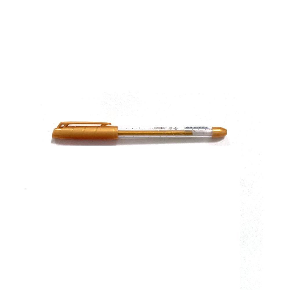 Caneta Esferográfica Gel Glitter 1.0mm Cores Sortidas  - BRW
