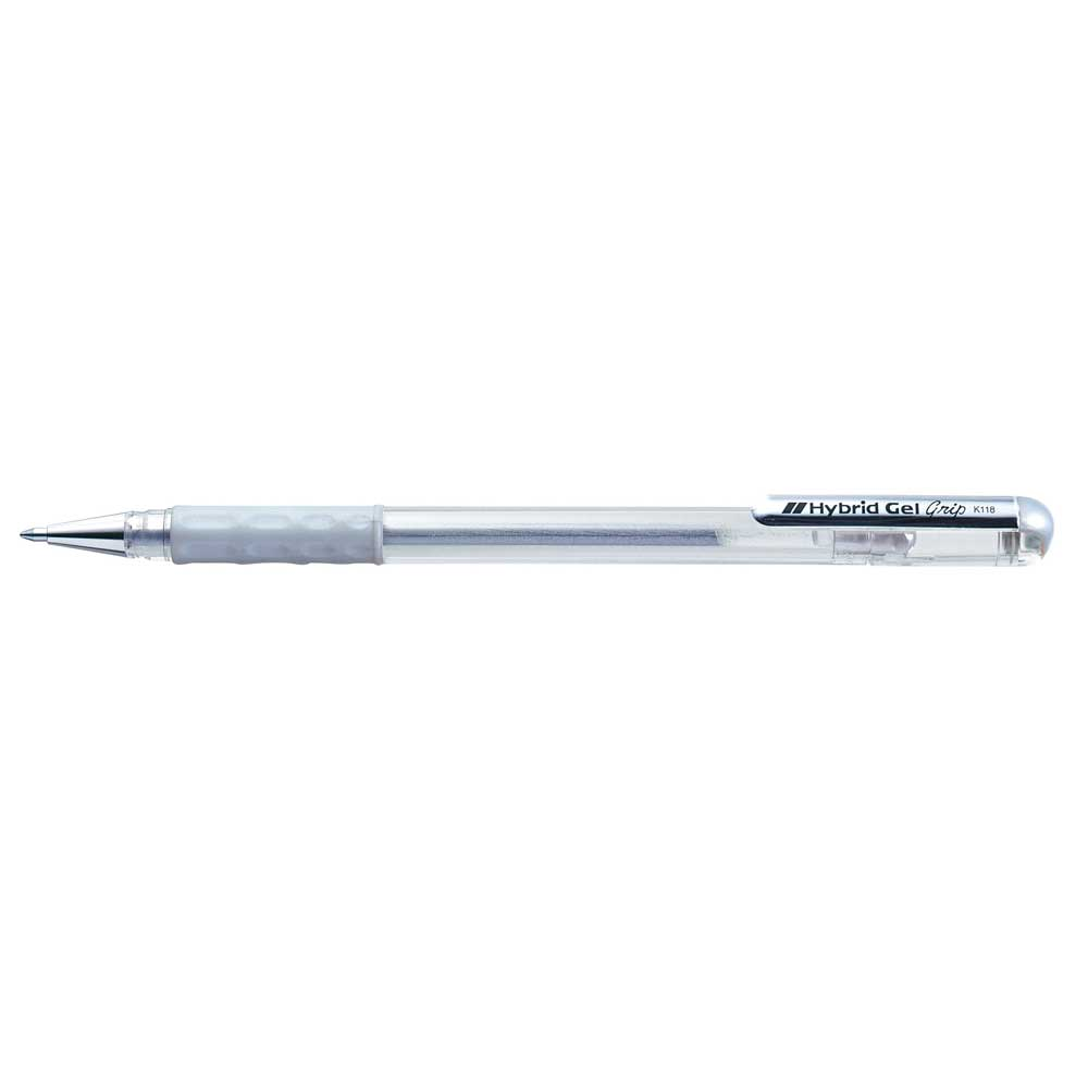 Caneta Gel Hybrid Grip Metallic 0.8 mm - Pentel