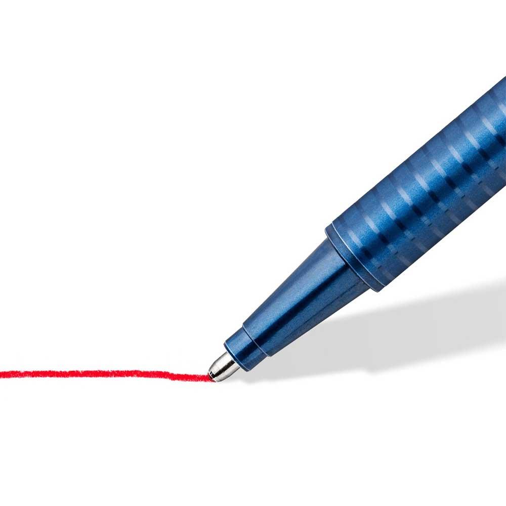 Caneta Esferográfica Triplus Ball XB Estojo c/ 10 Cores - Staedtler