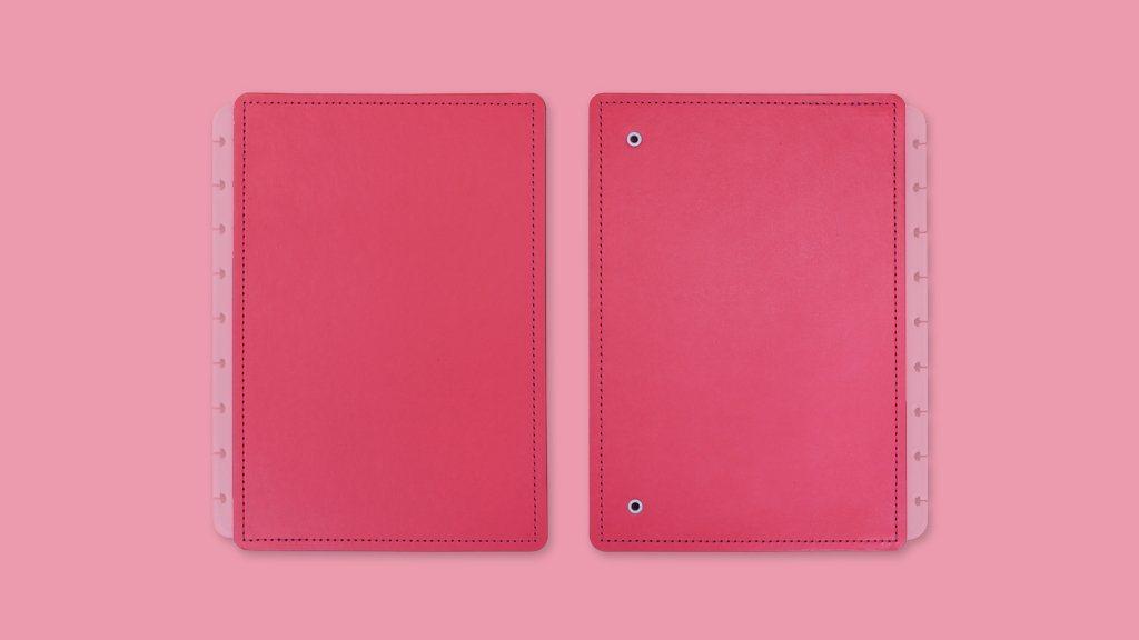 Acessório Caderno Inteligente - Capa e Contra Capa All Pink - Grande