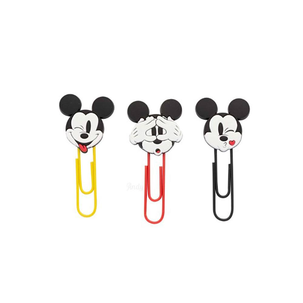 Clips Mickey 50mm Blister C/ 3 Unidades - Molin