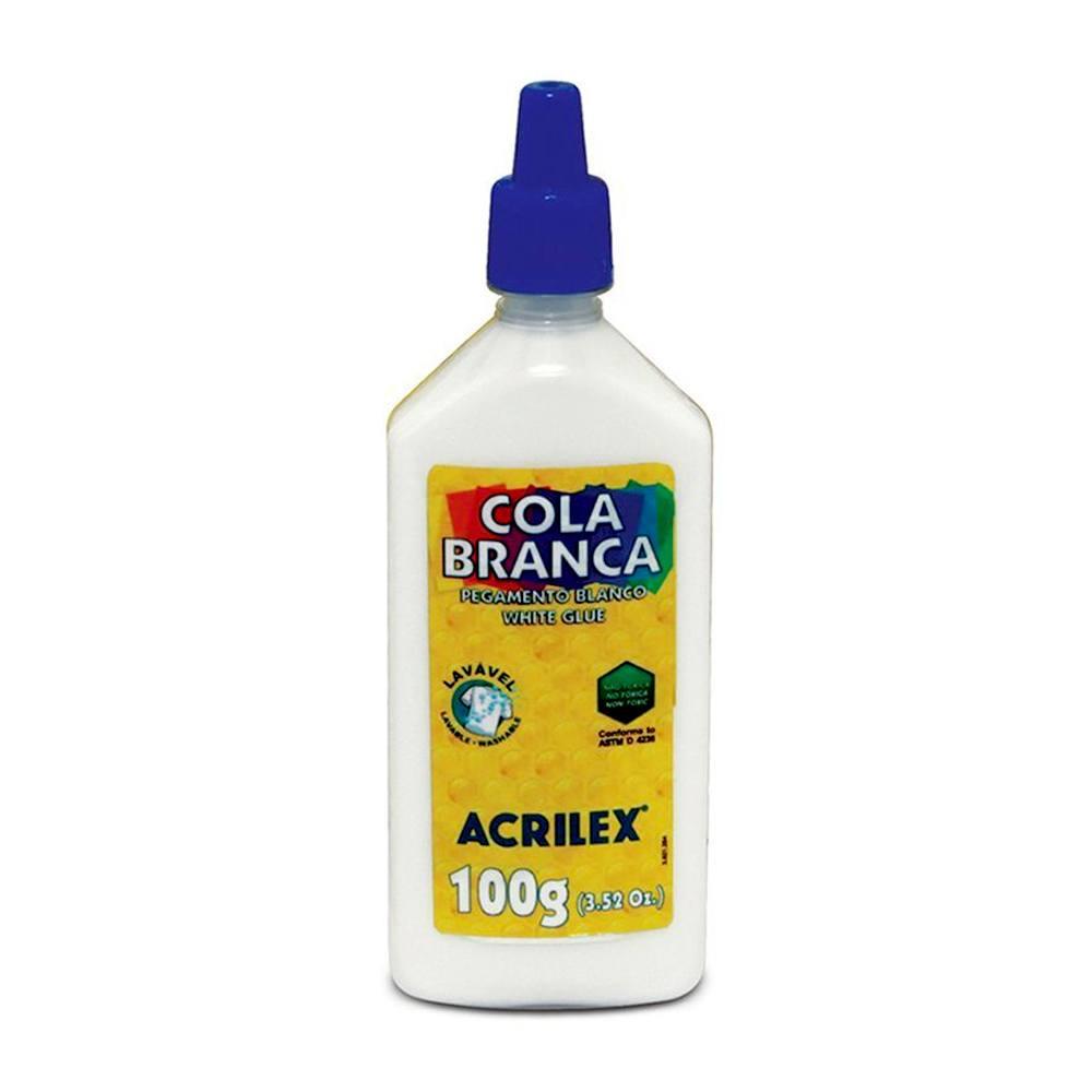 Cola Plástica Branca 100g - Acrilex