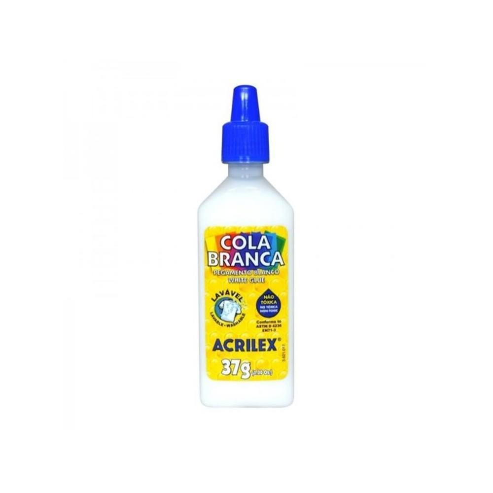 Cola Plástica Branca 37g - Acrilex