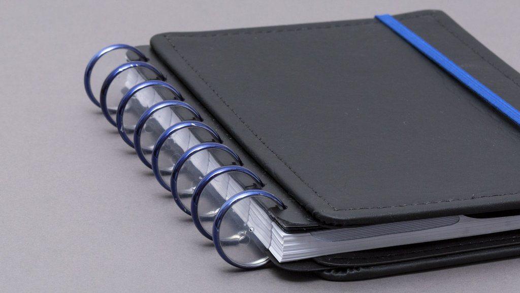 Discos + Elastico Metálico G (31mm) - Caderno Inteligente