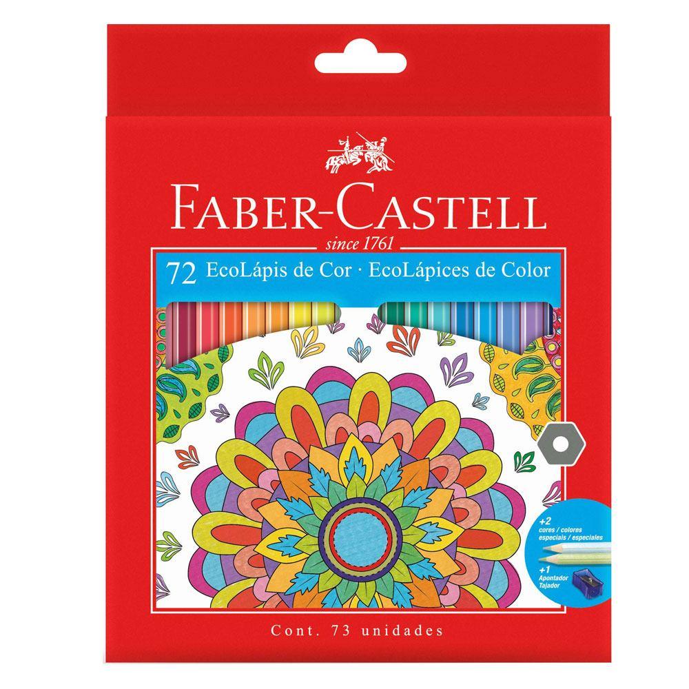 Ecolápis de Cor Faber Castell 72 Cores -  Faber-Castell