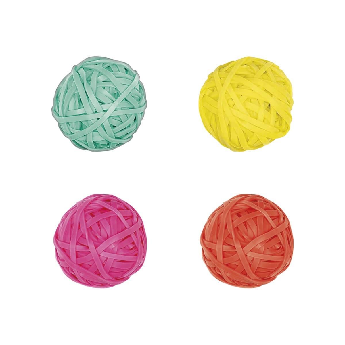 Elástico Bolinhas 35gr Cores Sortidas - Tilibra