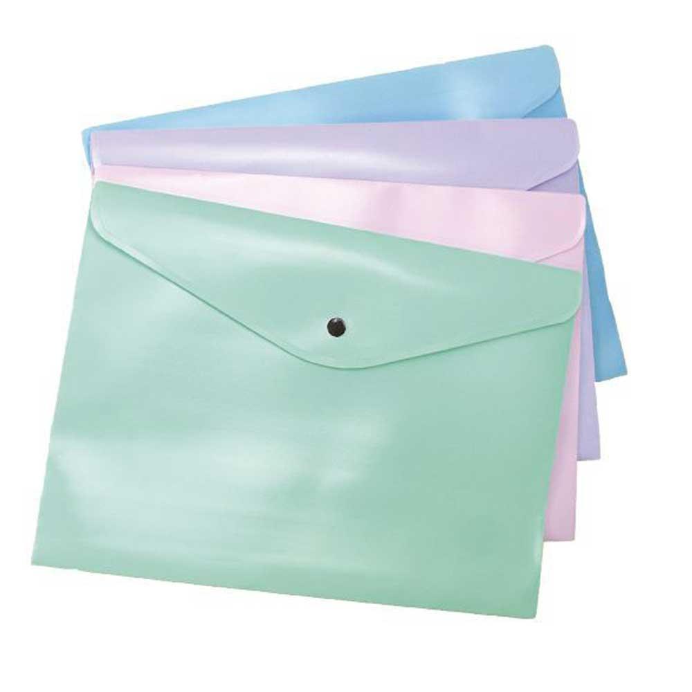 Envelope com Botão A4 Serena Pastel - Dello
