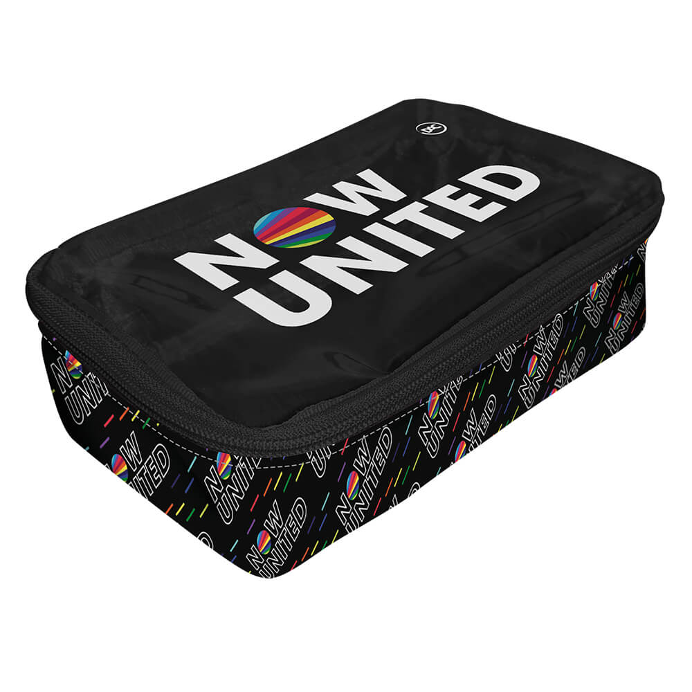 Estojo Escolar Box Grande Now United - DAC