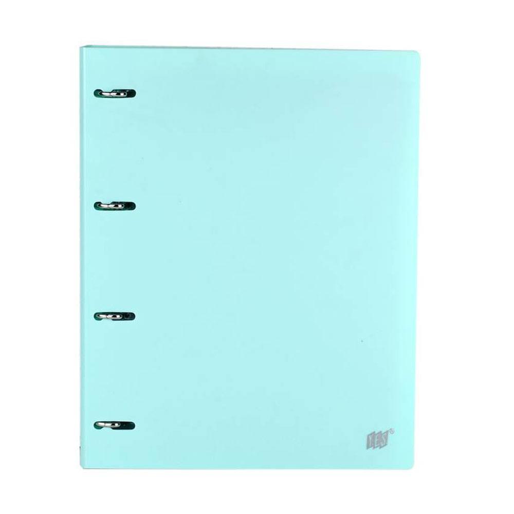 Caderno/Fichário Argolado C/ Divisória Universitário Tons Pastel - Yes