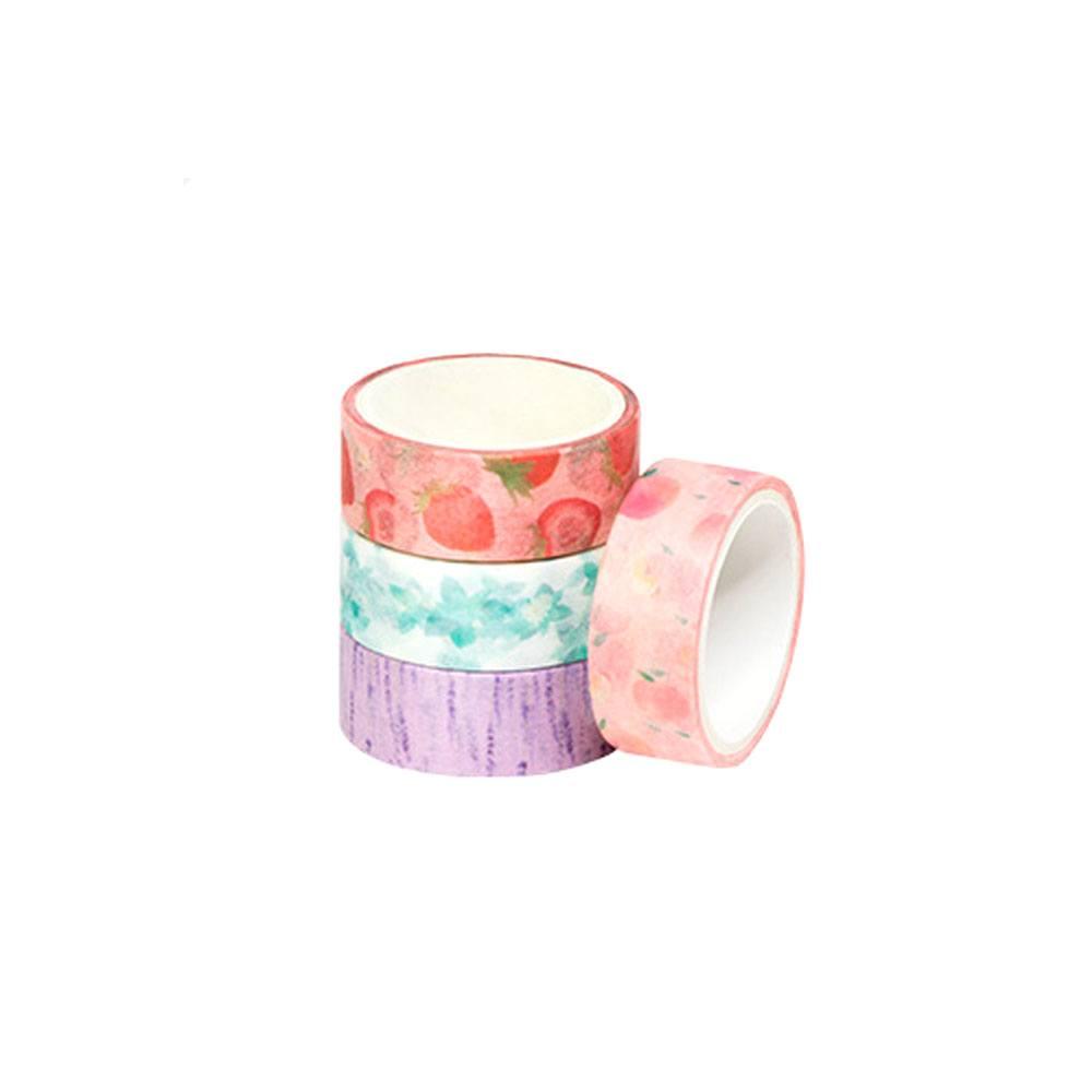 Fita Adesiva Washi Tape Com Cheiro - 15mmx3m - BRW