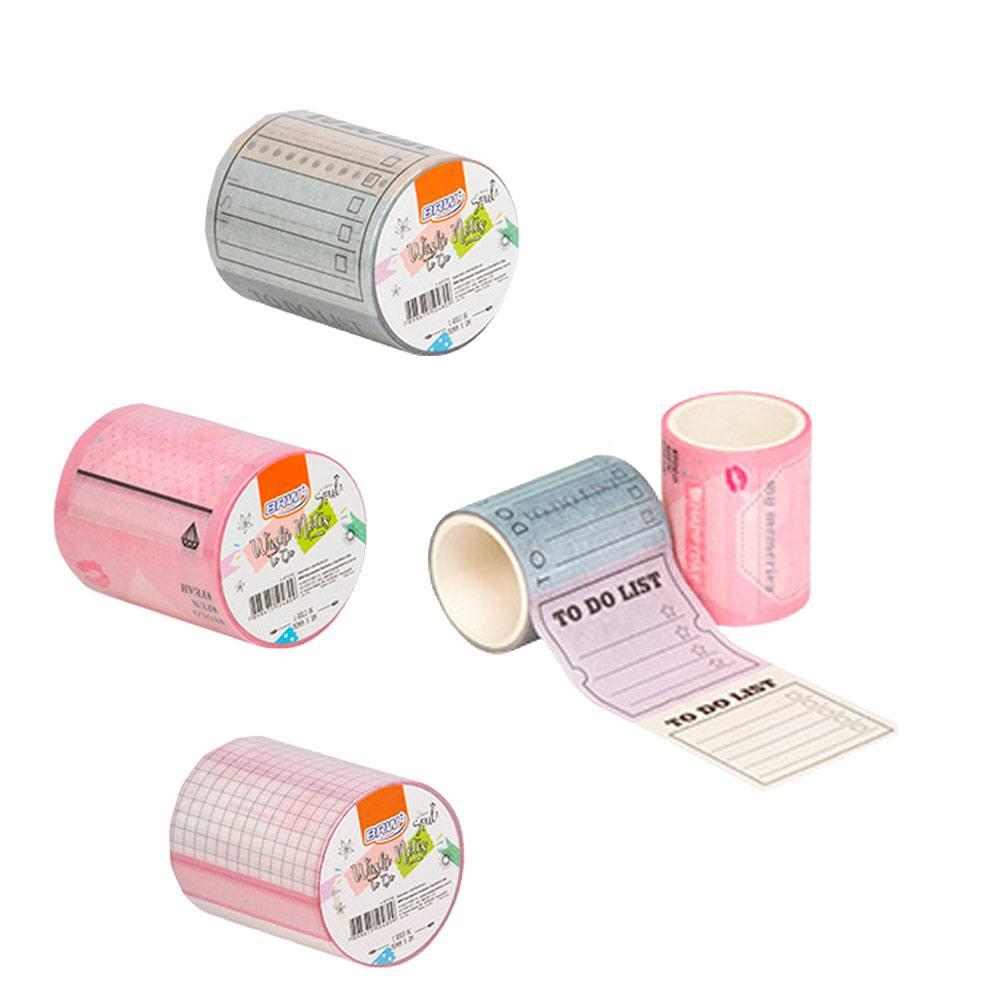 Fita Adesiva Washi Tape To Do  50mmx3m - BRW