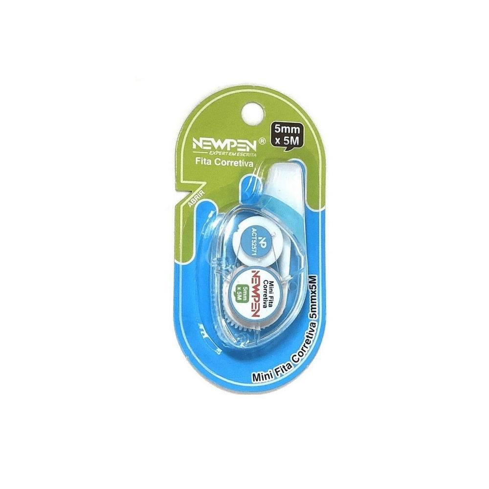 Mini Fita Corretiva 5mm x 5m - Newpen
