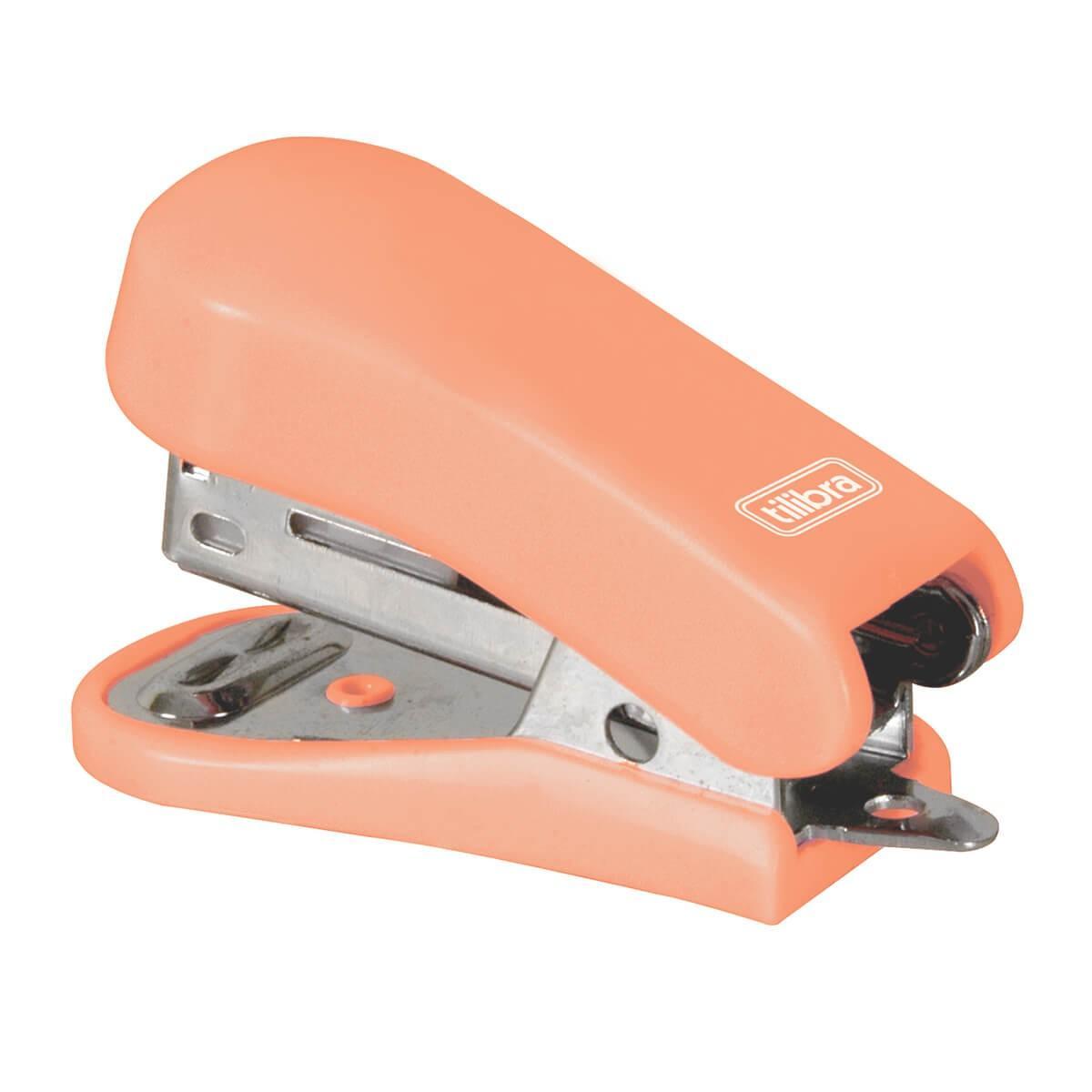 Grampeador 12 Folhas Mini C/ Extrator G101 - Tilibra