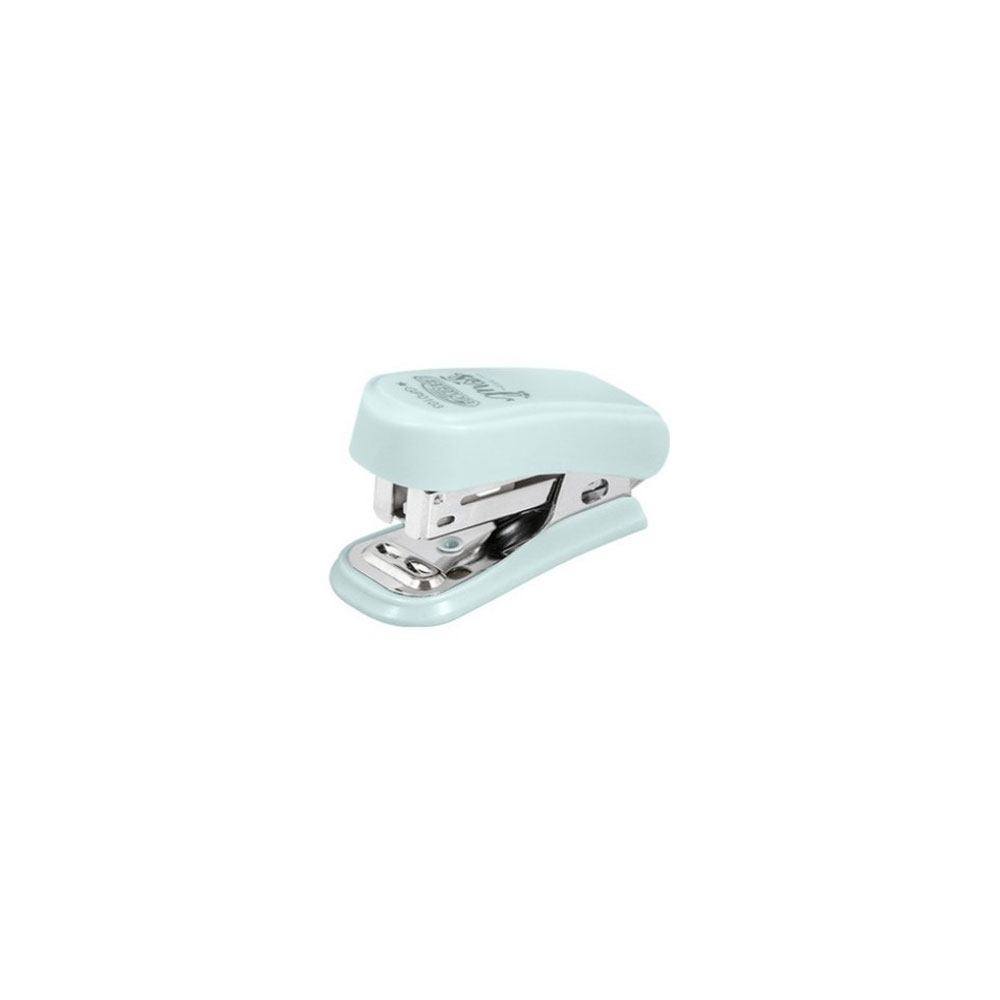Mini Grampeador Plástico Tons Pastel p/ 20fls - BRW